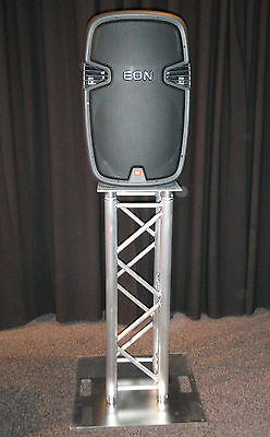 Speaker / lighting stand moving head package, 290mm 1m box truss NEW