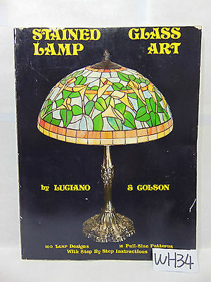 Stained Glass Lamp Art Book By Luciano Colson 100 Lamp Designs