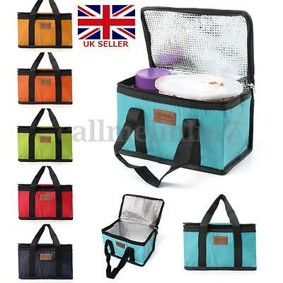 UK Waterproof Insulated Cooler Picnic Thermal Portable Carry Lunch Storage Bag