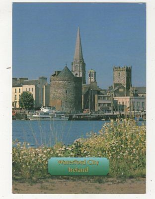 Waterford City & Bridge Over River Suir Ireland 1996 Postcard 982a