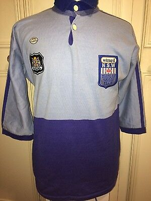 New South Wales NSW NRL State Of Origin Rugby League Jersey 38 Chest Shirt Top