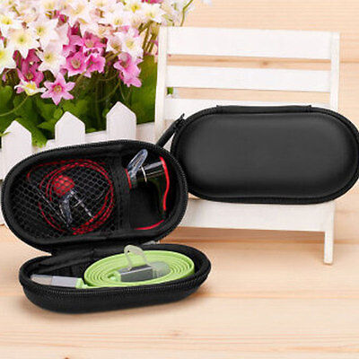 Headset Keys Protect Carrying Case Bag Storage Box Headphone Earphone Charger