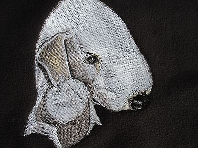 Embroidered Sweatshirt - Bedlington Terrier BT3982 Sizes S - XXL