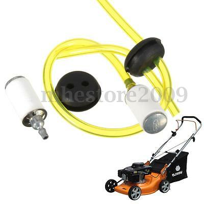 Fuel Line & Replace Fuel Filter With 2 Hole Grommet Assembly Kit For Chainsaws