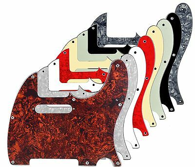Telecaster 8-Hole Scratchplate Pickguard SS to fit genuine Fender USA/MEX