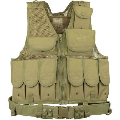 Viper Tactical La Special Forces Assault Vest Coyote Military Style Airsoft Army