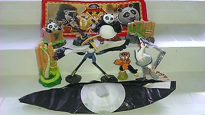 Kung Fu Panda 2, Italy, Ferrero, Kinder, compl. set with all Bpz