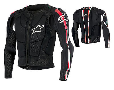 Alpinestars Bionic Plus Veste de protection noir MX VTT Motocross Enduro S-XXL