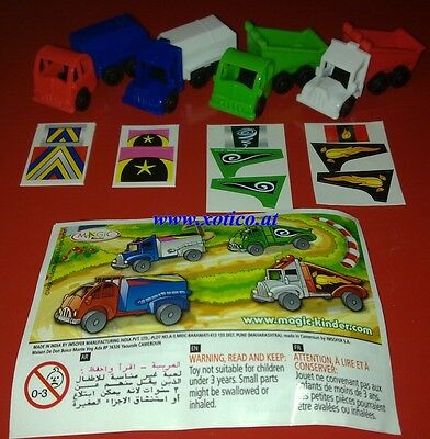 Truck Israel, Ferrero, Kinder, compl. set with all Bpz