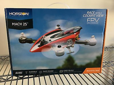 Blade Mach 25 FPV 250 Racer Drone Quadcopter BNF Basic (BLH8980)