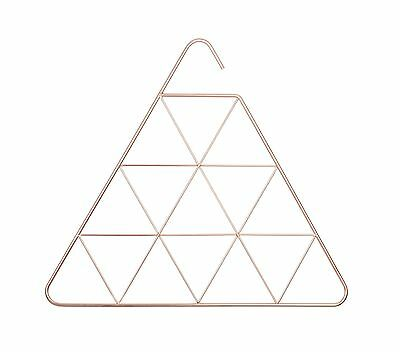 Umbra Pendant Scarf Holder Triangle Copper NEW