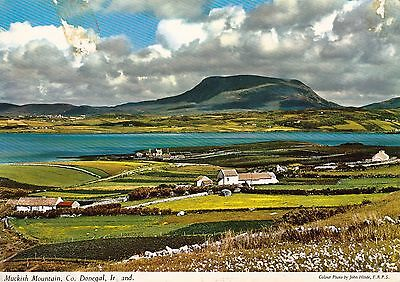 J25   Muckish Mountains, Co. Donegal, Ireland. Postcard unused