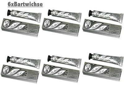 6 er Set Bartwichse Brother´s Love a 10ml clear