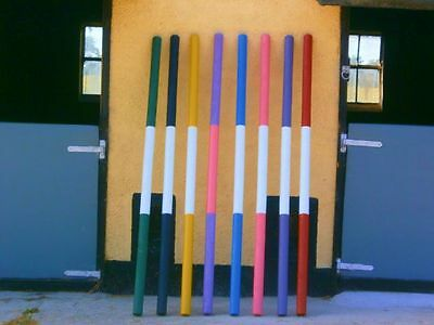 Painted Timber Pony Show Jump Poles