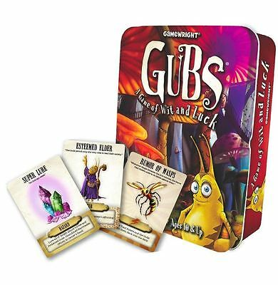 Gamewright Gubs Card Game for Kids Family Fantasy Travel Game in Tin