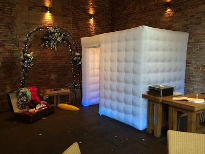 LED Inflatable Photo Booth Enclosure For Sale **UK Stock Immediate Dispatch**