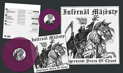 Infernal Majesty - Nigrescent Years Of Chaos LP #107023 V