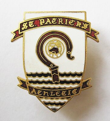 ST PATRICK'S ATHLETIC Ireland - Superb Enamel Football Pin Badge By Vaughton