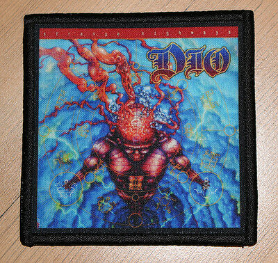 "DIO ""STRANGE HIGHWAYS"" silk screen PATCH"