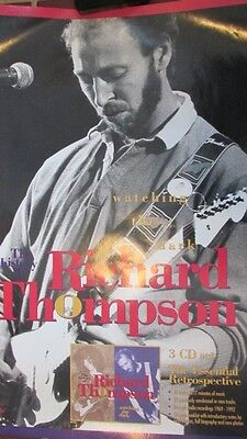 "Richard Thompson ""History of"" 36x24 inch Promotional Poster"