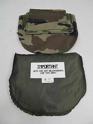 French Army Camo L3A Bullet Stab Proof Vest Body Armor Groin Protector Panel GP2