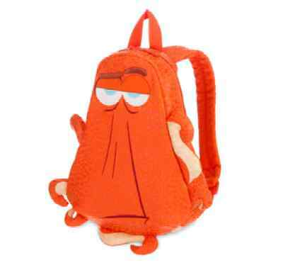 *Disney Store Hank Octopus Swimming Junior Backpack, Finding Dory Nwts Nemo