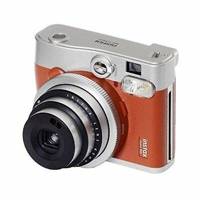 Fujifilm Fujifilm INSTAX Mini 90 Brown Instant Film Camera (Brown)