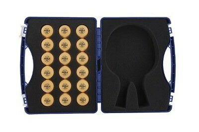 Joola JOOLA Table Tennis Tour Case with 18 40mm Three Star Competition Balls