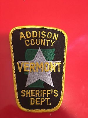 Addison County Vermont Sheriff Shoulder Patch