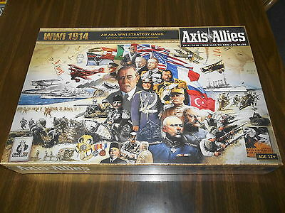 AXIS & ALLIES 1914 - 1918!! A WWI Strategy Game! Brand New and Sealed!!