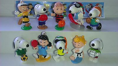 Snoopy Sport, Japan, Ferrero, Kinder, compl. set with 1 Bpz