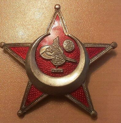 Turkey Turkish Ottoman Empire WWI Authentic Order Gallipoli STAR ! Medal