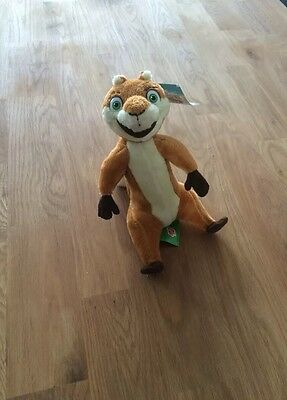 Plush Toy - Over The Hedge - Hammy BNWT