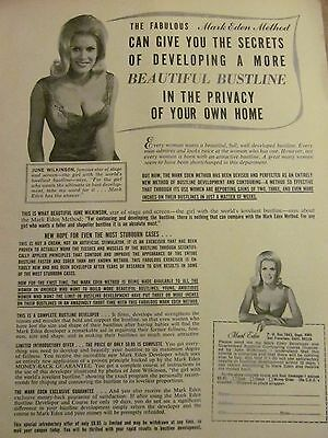 Mark Eden, Breast Development, Full Page Vintage Print Ad