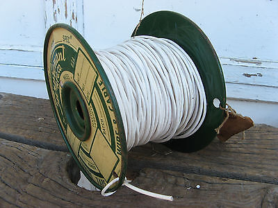 1950s NOS MIL-W-16878-C CABLE -100 ft.+ REEL- SURPRENANT WIRE VINTAGE NAVY SPEC