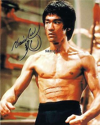 Bruce Lee #1 Reprint Autographed Picture Signed Photo 8X10 Christmas Gift Rp