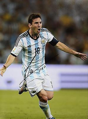Lionel Messi #2 Reprint Autograph Picture Signed Photo 8X10 Christmas Soccer Rp