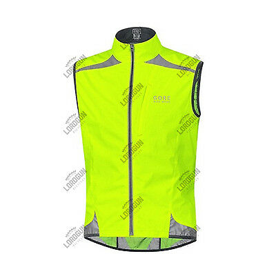 Smanicato Gore Bike Wear Visibility Ws As Windstopper Active Shell Gilet Vest
