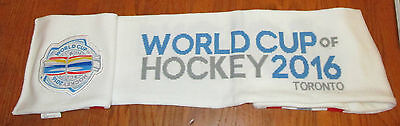 2016 World Cup of Hockey Official Scarf CANADA NORTH AMERICA USA