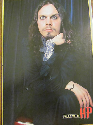 Ville Valo, HIM, Full Page Pinup