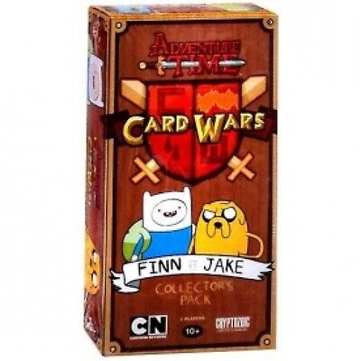 Adventure Time Card Wars Finn vs. Jake Collectors Pack Brand New
