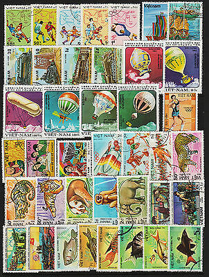 OPC 1982-89 Vietnam Collection of 165 CTO Never Hinged