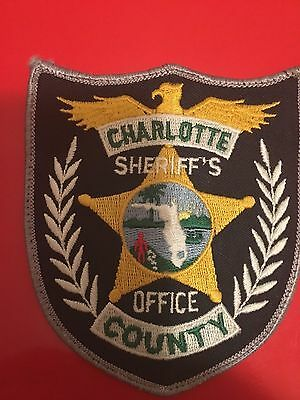 Charlotte County Florida Sheriff  Shoulder Patch   Used