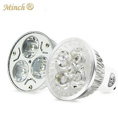 1PCS Ultra Bright Dimmable 3W 4W 9W GU10 LED Bulbs Spotlight High Power LED Lamp