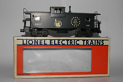 Lionel O Scale #6-6917 Jersey Central Extended Vision Caboose, Excellent, Boxed
