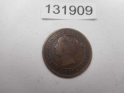 1859 Canada Large Cent - Nice Collector Grade Album Coin - #  131909