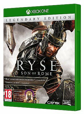 * XBOX ONE NEW SEALED Game * RYSE SON OF ROME - LEGENDARY EDITION *