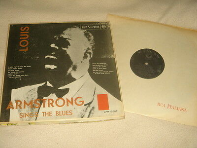Louis Armstrong Sings The Blues Lp Itay Prima Stampa Rca Victor