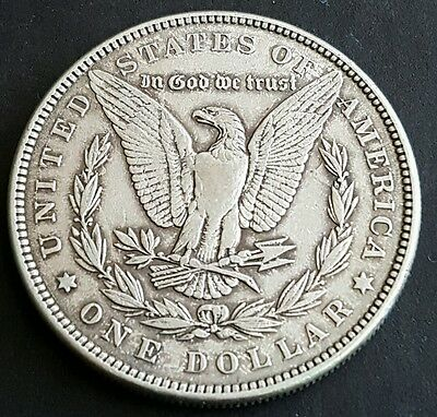 1887 USA Silver Morgan Dollar $1