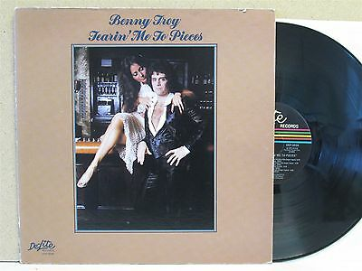 BENNY TROY- Tearin' Me To Pieces LP (1976 Vinyl) SOUL I Wanna Give You Tomorrow